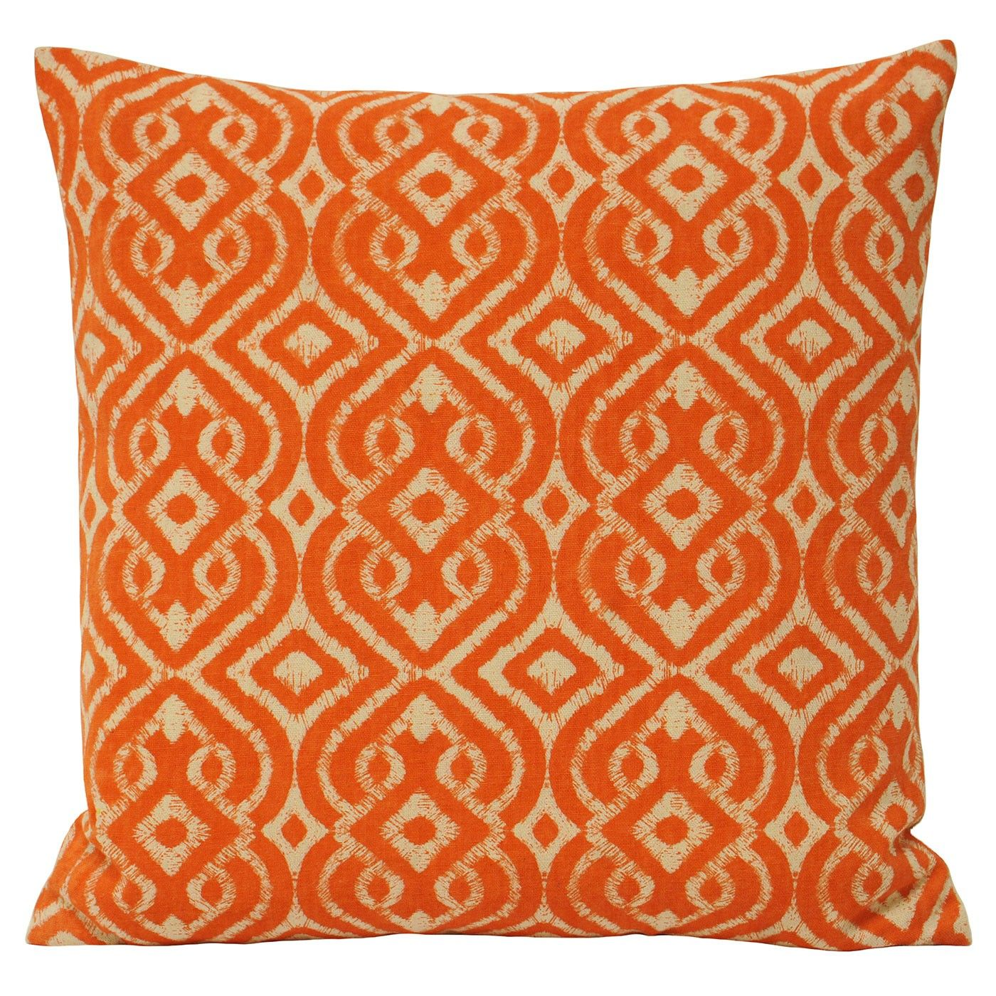 Energetic and colourful the riva home mono luca cushion uses a