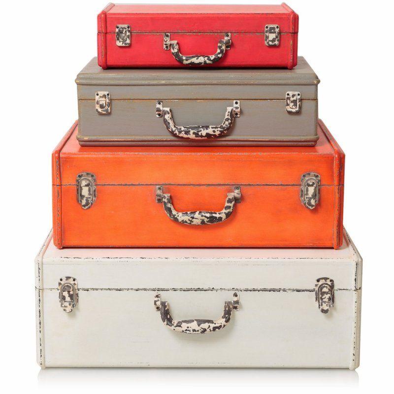 Delightful Decorative Storage Suitcase | Homeware | Oliver Bonas