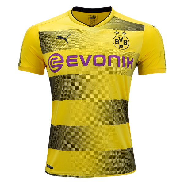 NEW ⚡ Borussia Dortmund 2017 18 Home Jersey from Puma. Available now at  WorldSoccershop.com e346ecfe7