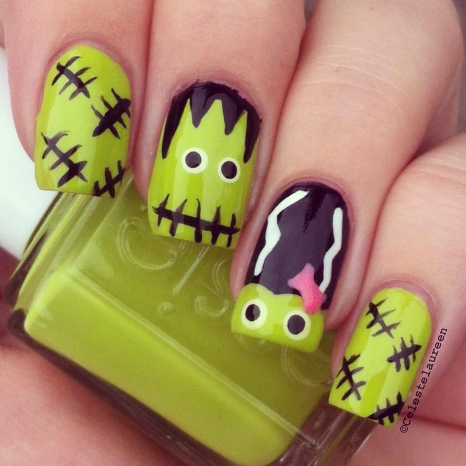 Halloween Nails | uñas | Pinterest | Diseños de uñas, Halloween y ...
