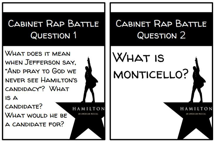 Free hamilton the musical task cards for rap