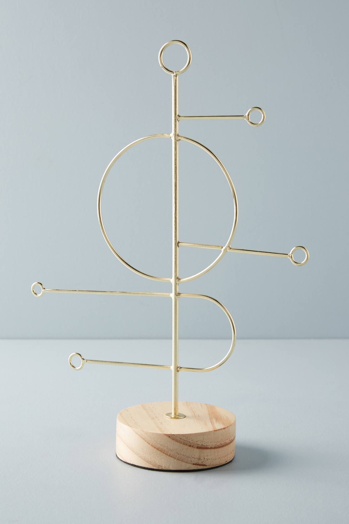 Ursa Jewelry Stand By Anthropologie In Gold Bath