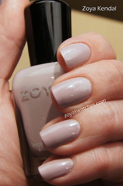 Zoya Nail Polish Kendal Perfect Shade For A Job Interview With