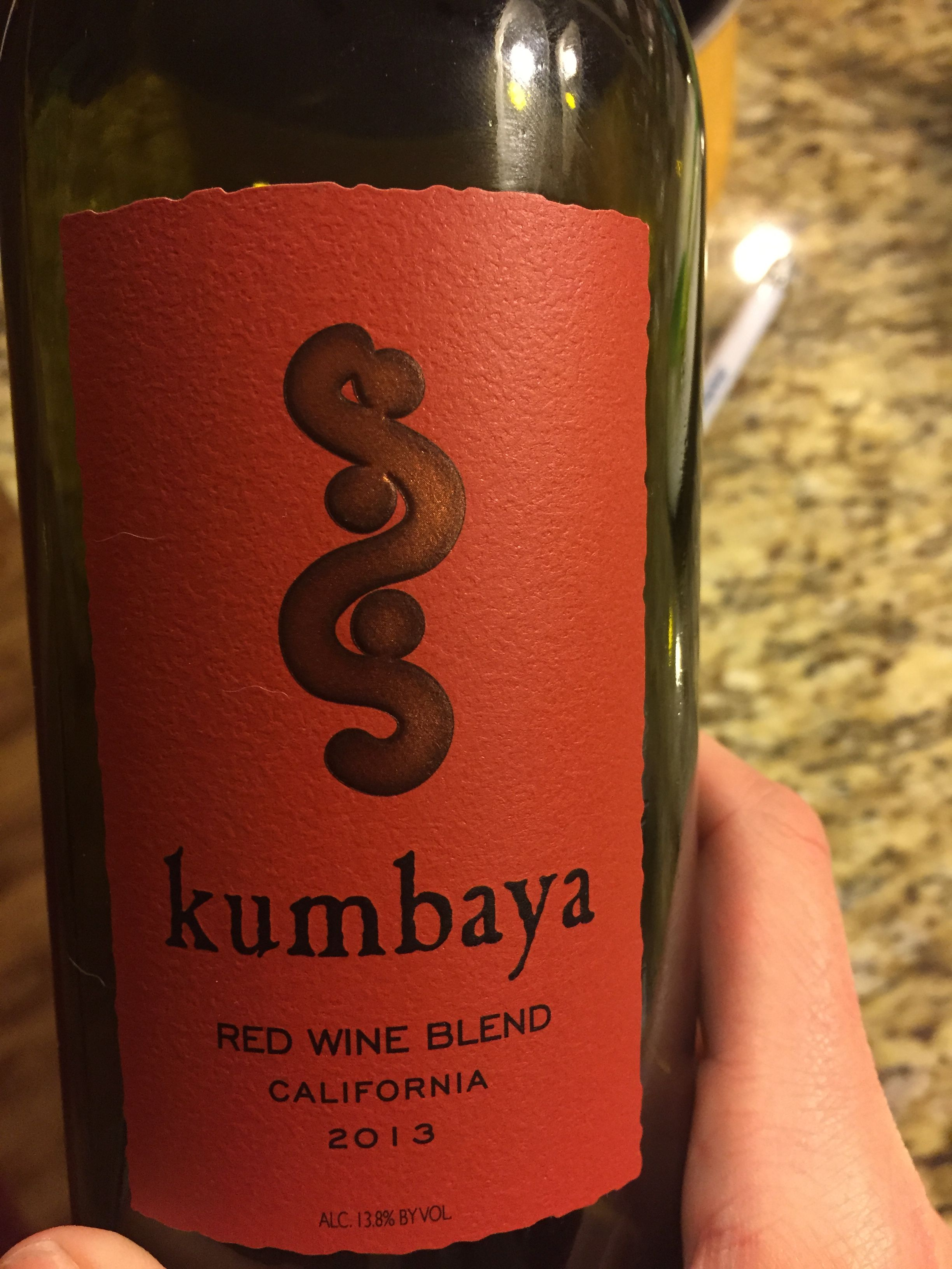 Kumbaya Red Wine Red Wine Red Blend Wine Wine Bottle