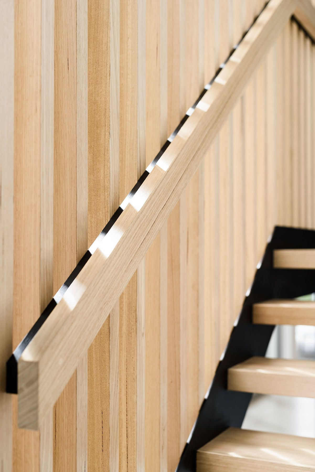 Stair | Treads | Victorian Ash | Balustrade | Feature | Contemporary |  Interior Design | Handrail | Open Staircase | Architecture