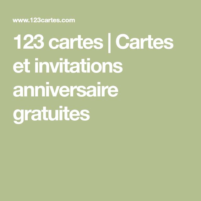 123 Images Gratuites 123 cartes | cartes et invitations anniversaire gratuites | carte