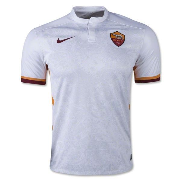 more photos 13243 5d454 AS Roma 15/16 Away Soccer Jersey   AS Roma   As roma, Soccer ...