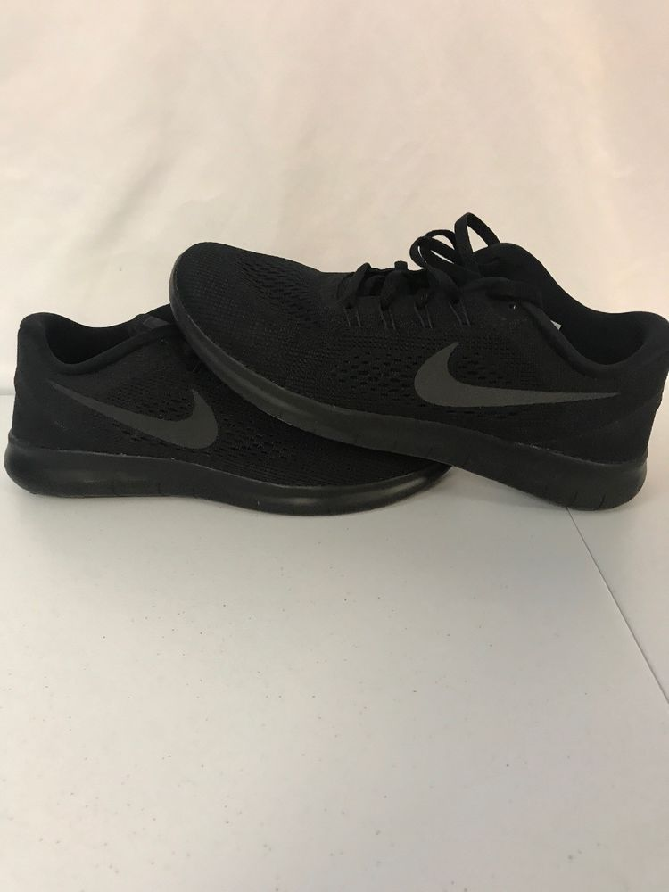 3530396a06099 Mens Size 8 Nike Free RN Running Shoes Black Anthracite 831508-002 Run   fashion  clothing  shoes  accessories  mensshoes  athleticshoes (ebay link)