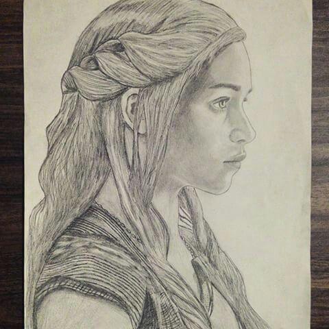 Karakalem Draw Drawing Tumblr Pencil Charcoal Woman Artwork