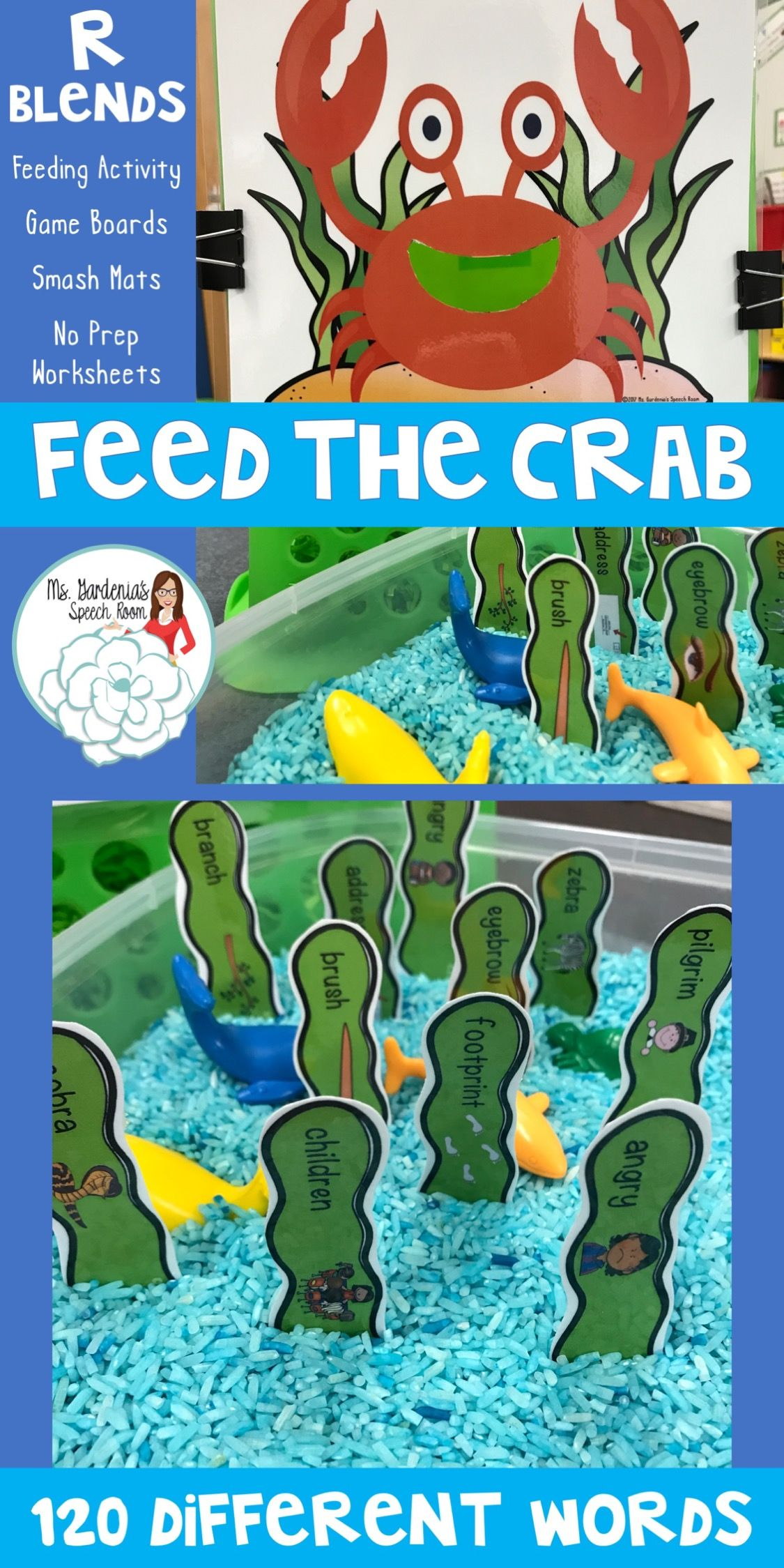 Feed The Animal Crab Activity Perfect For Mixed Groups