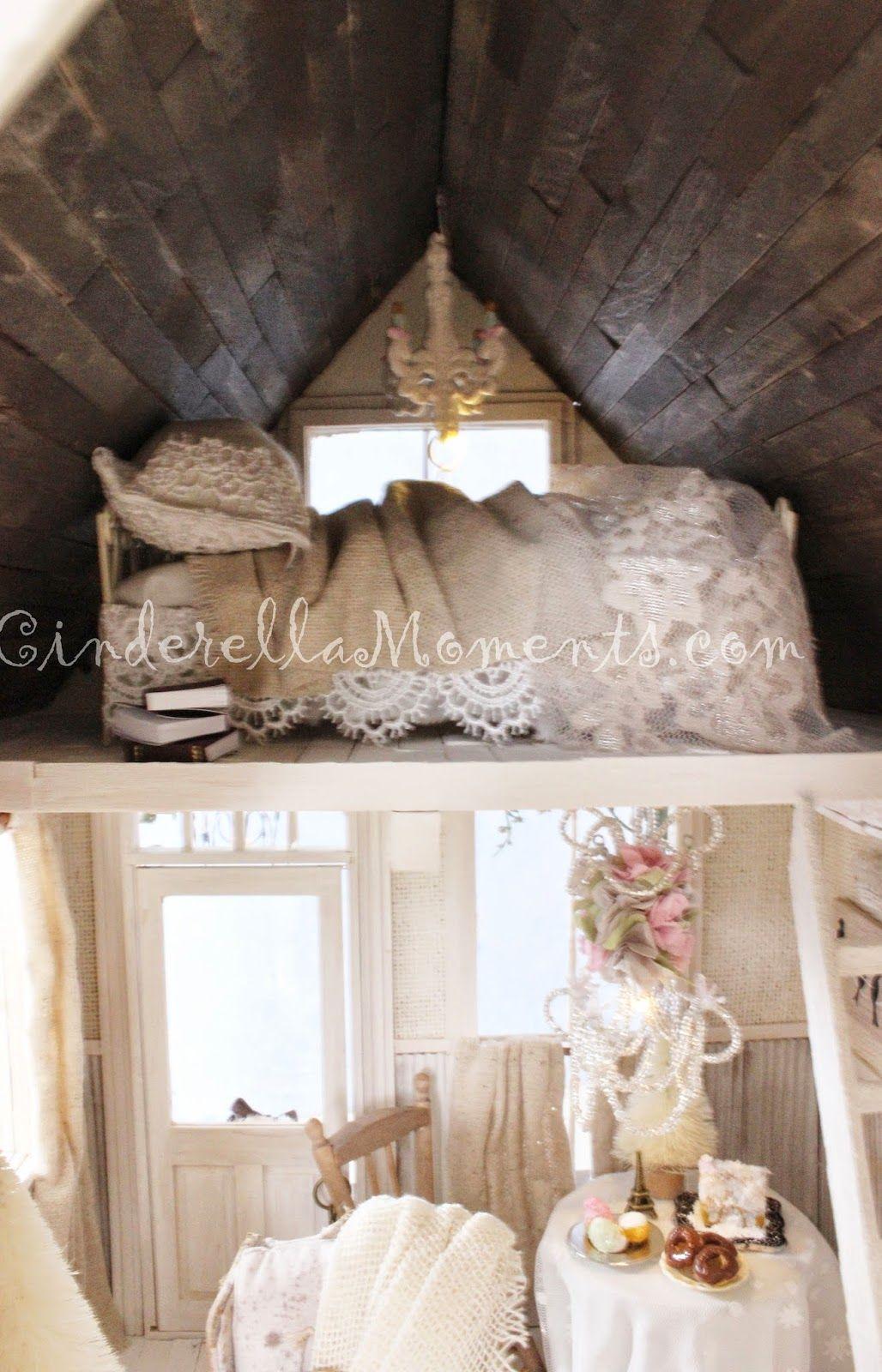 Swan Ridge Furnished Custom Dollhouse | Cinderella Moments