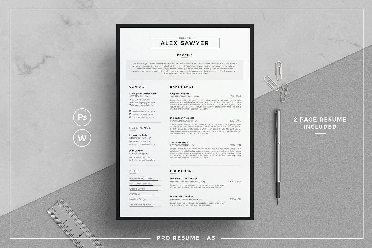 Resume/CV AS in 2020 Resume cv, Best resume template
