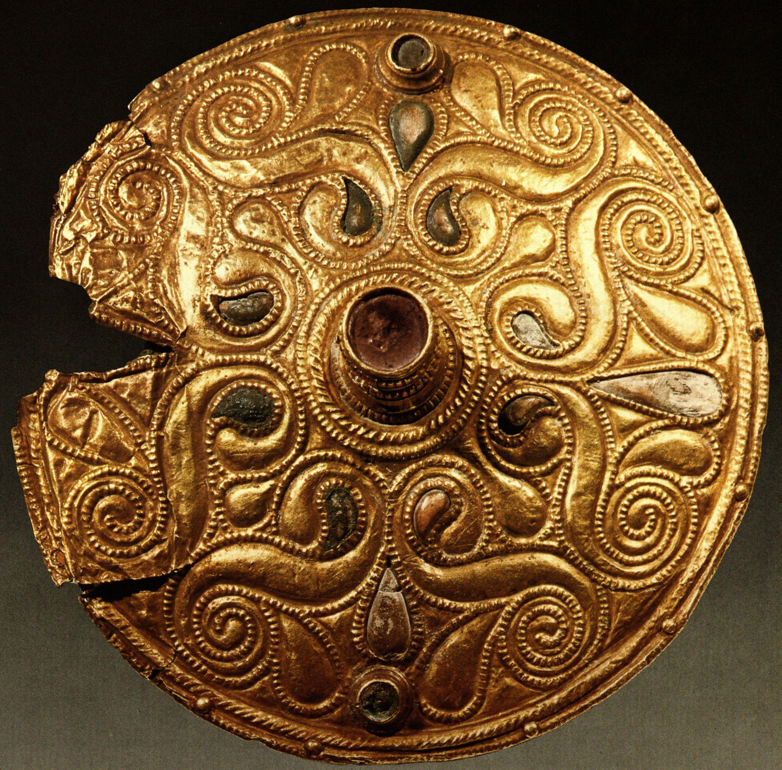 Disc Brooch France 4th Century Bc Celtic Art Celtic Culture