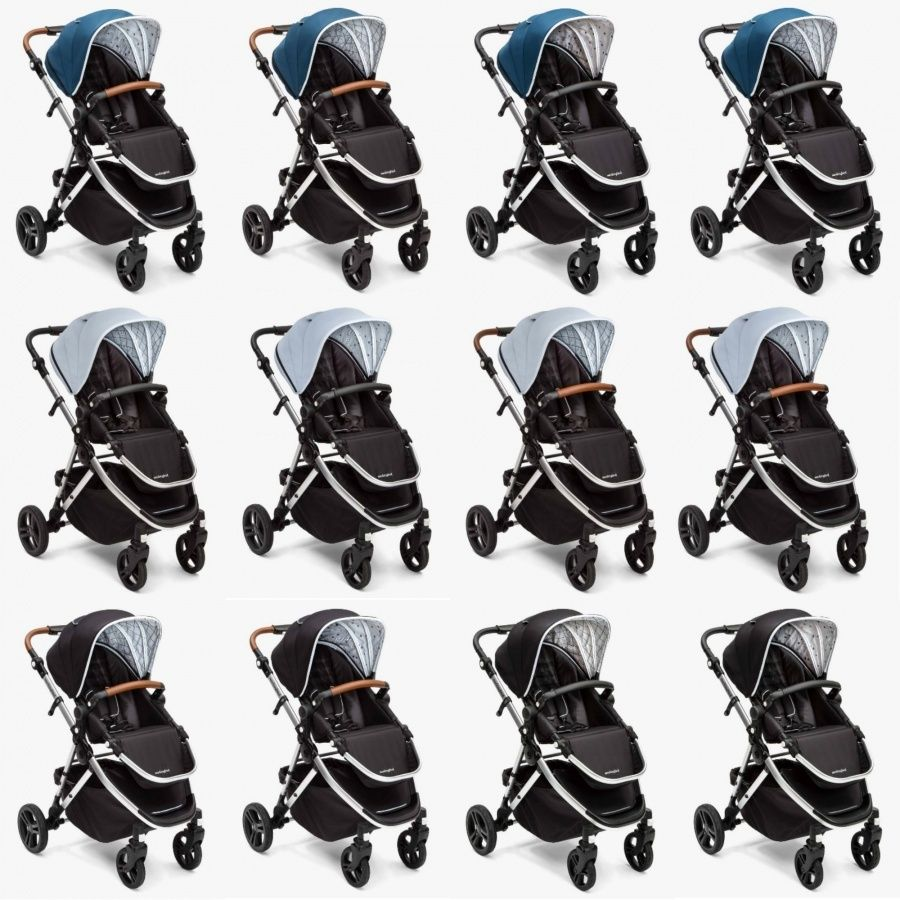 the colors of. At this time, the stroller can come in a
