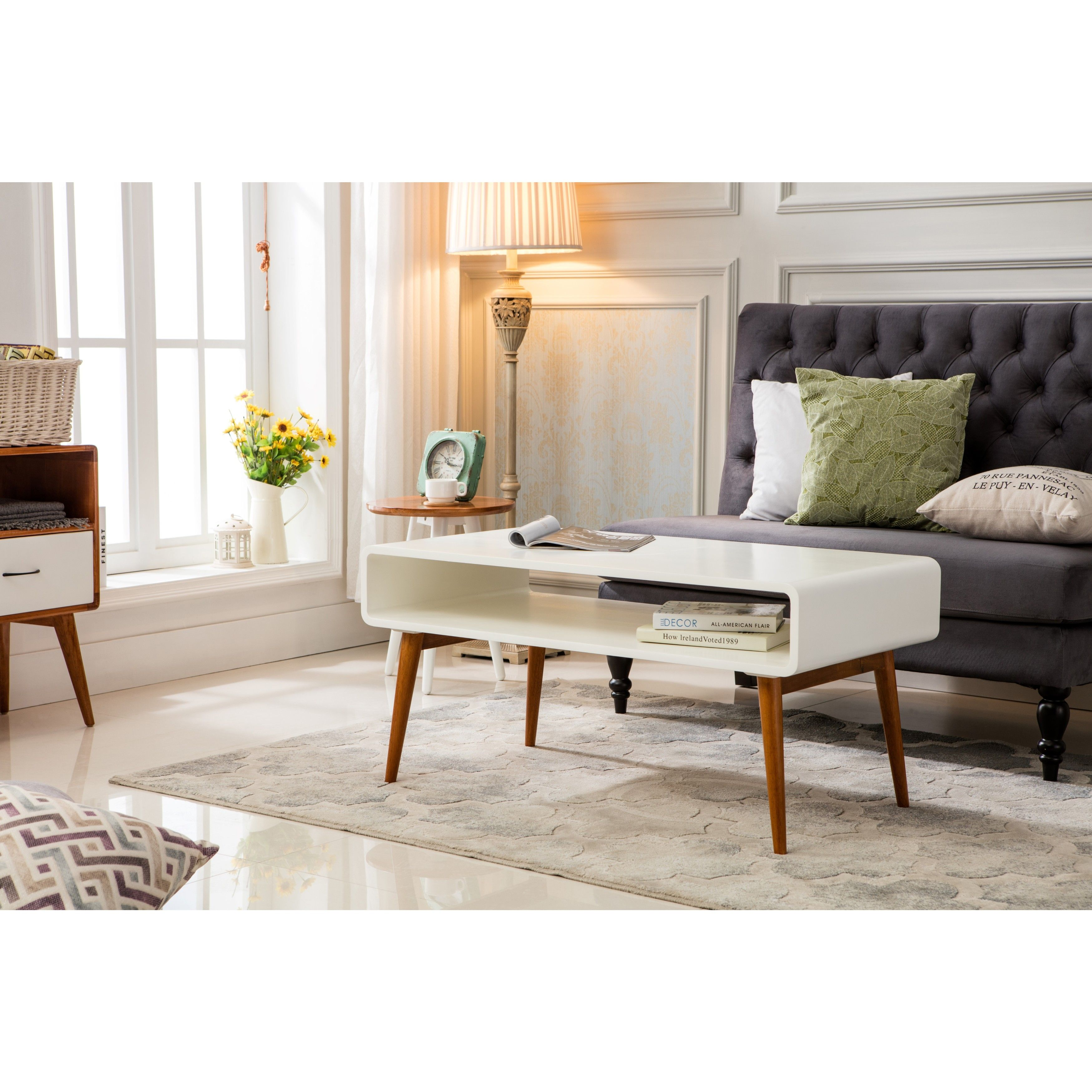 Buy modern coffee table from Overstock for everyday discount