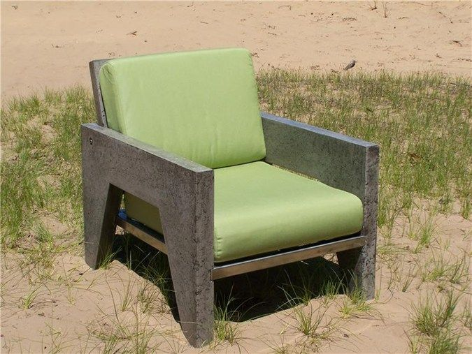 Concrete Chair, Outdoor Furniture