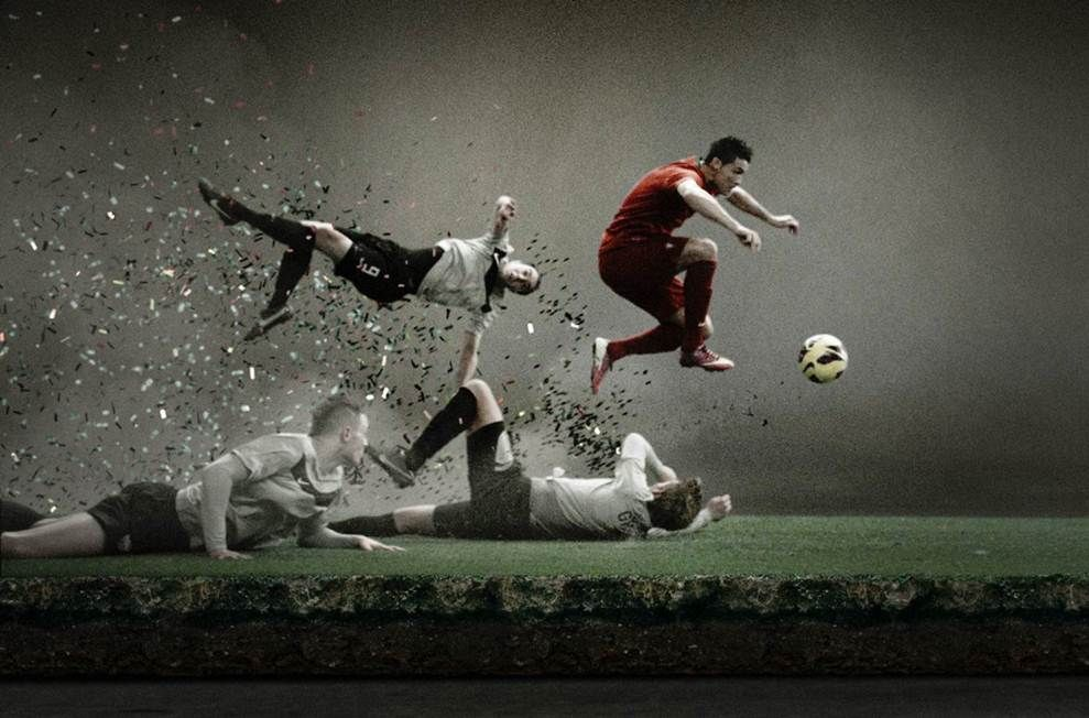 Nike Football Quotes Wallpaper Quotesgram Football Wallpaper Football Ads Nike Football