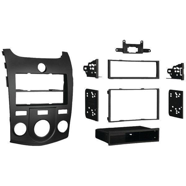 Metra 99-3016G Gray Single DIN Dash Kit for Select Chevrolet Colorado//GMC Canyon