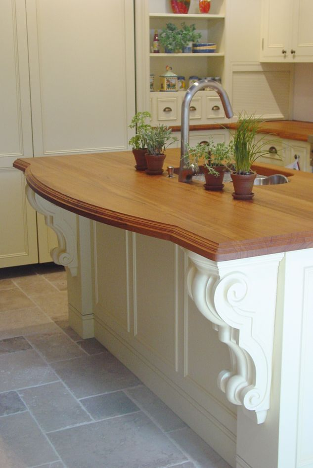 Elegant Corbels Are A Great Addition To This Island Check These And More Out On