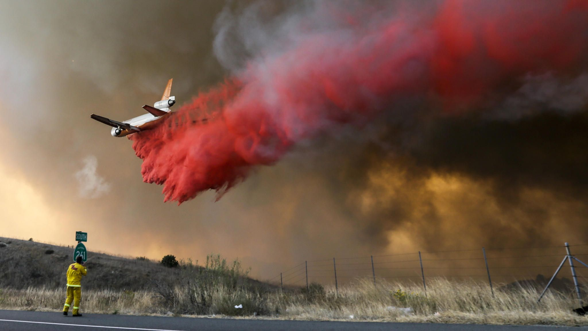 24 structures lost and 7,500 acres burned in Orange County