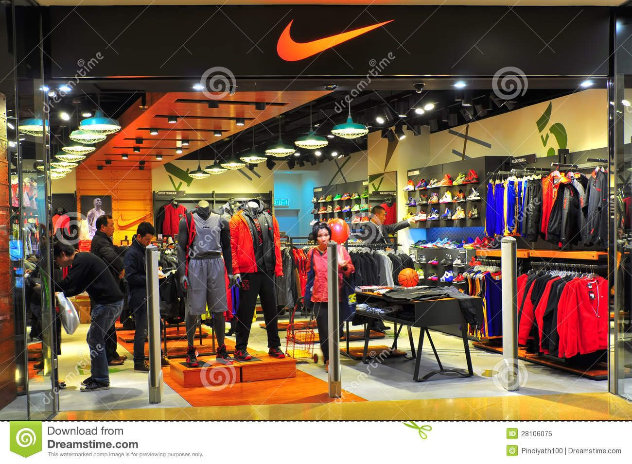 Nike clothing online store