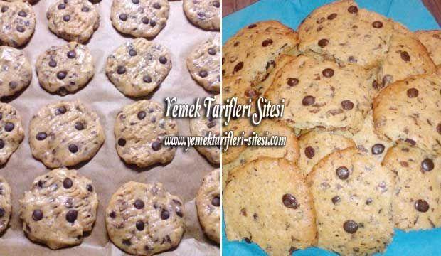 Fındıklı Çikolatalı Cookies Tarifi