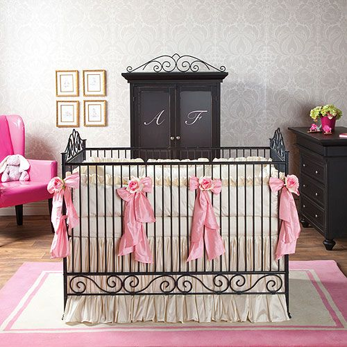 Delicieux Casablanca Premiere Iron Crib In Slate : All Baby Cribs At PoshTots