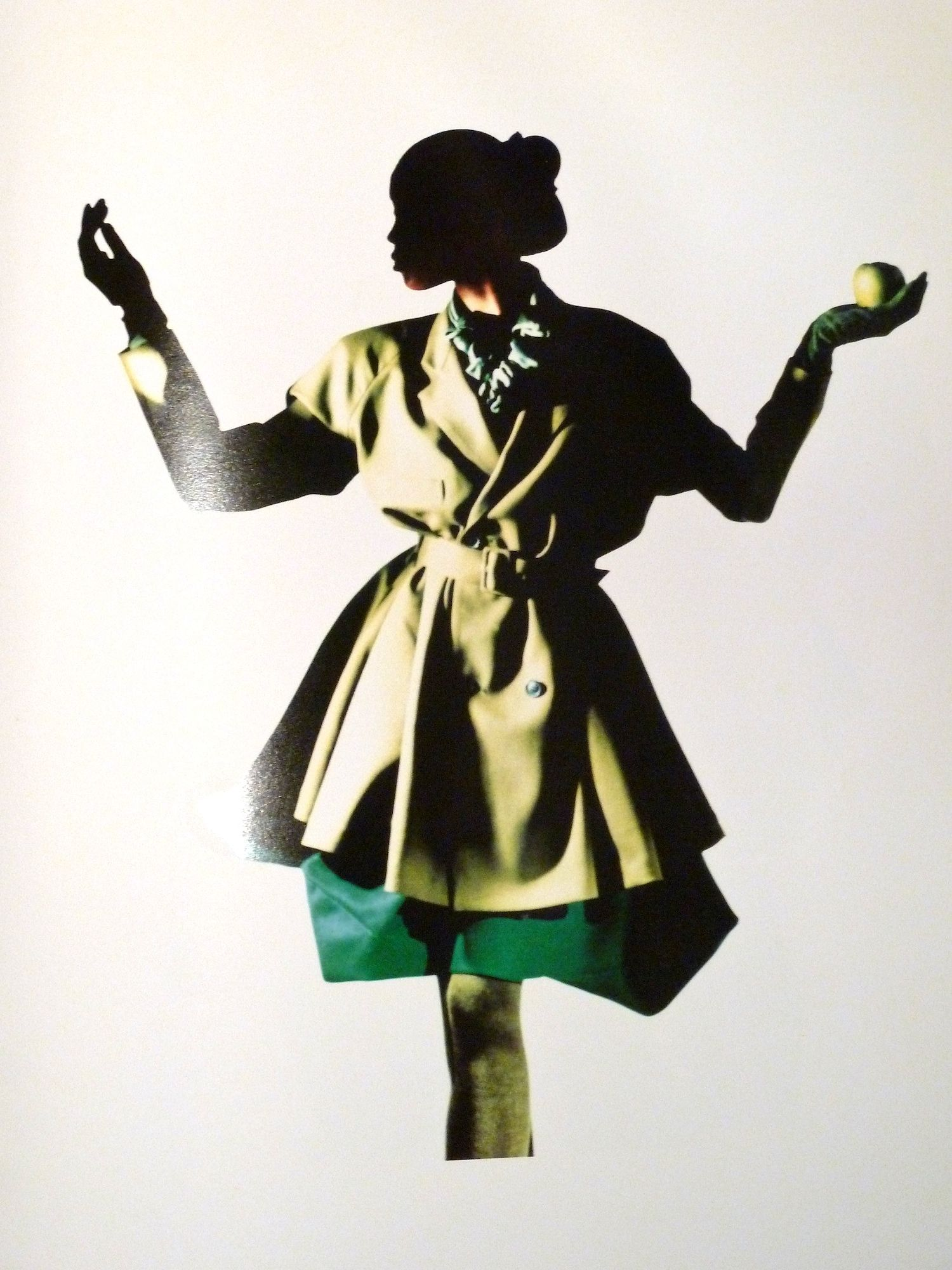 Nick Knight image from the original 80s catalogue of Yohji Yamamoto