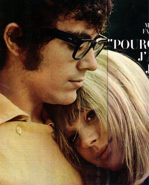 Marianne and John Dunbar, circa 1965
