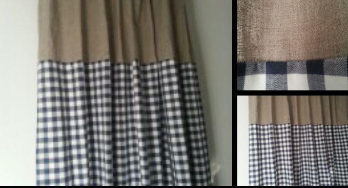 stoere kinder gordijnen linnen/ruit | Jongenskamer | Pinterest