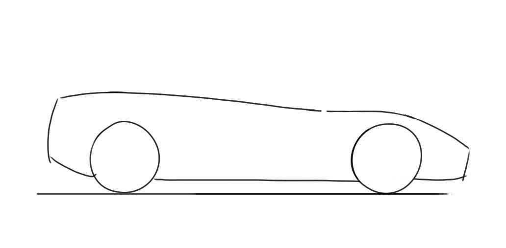 How to draw a lamborghini gallardo 2