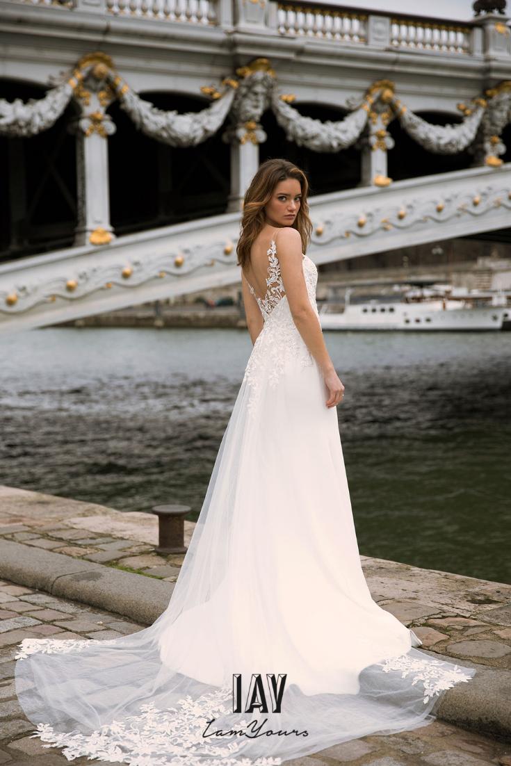 pc Madi Lane Dress Madi Lane via IamYours #wedding #bride #brides