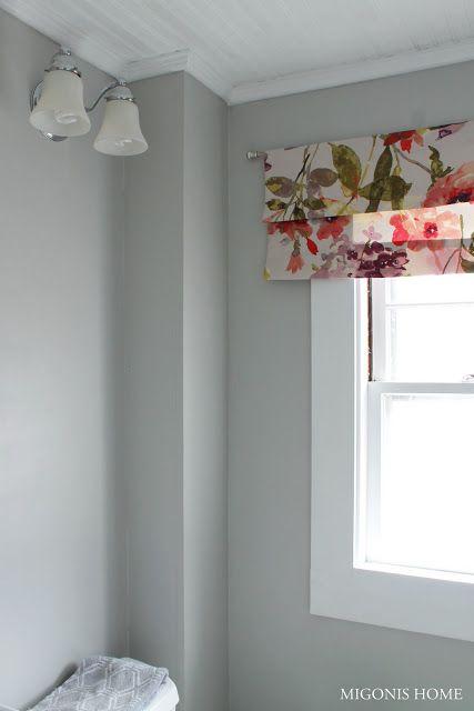 Migonis Home Bathroom Valance  Window Treatment  Pinterest Prepossessing Small Curtains For Bathroom Windows Decorating Design