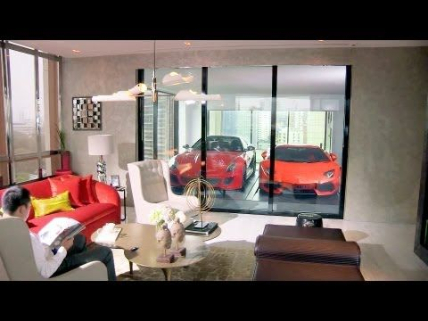 Friday luxe love park your ferrari in your living room hamilton scotts first residence in asia with en suite sky