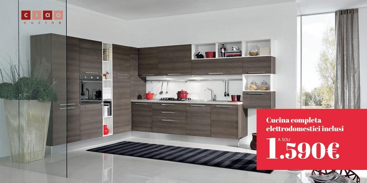 Solo sa Casa Trasacco Cucina Ciao Cucine 100% made in Italy completa ...