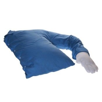 Funny Gift - Boyfriend Pillow ® – Blue And White – The Original Arm Snuggle Companion Pillow – TRADEMARKED