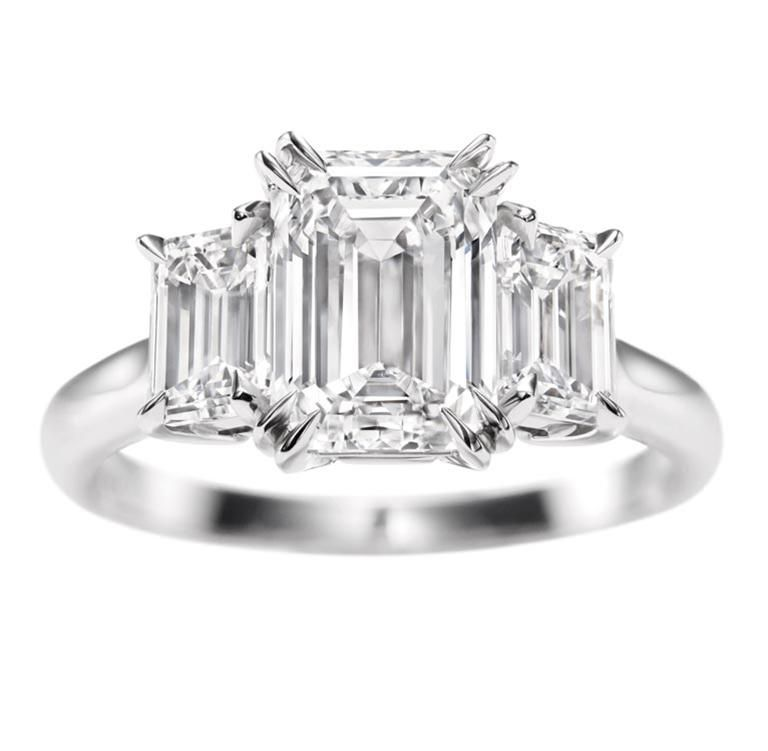 17 Best images about Diamonds! on Pinterest | Emerald cut rings, Engagement  rings and Diamond engagement rings