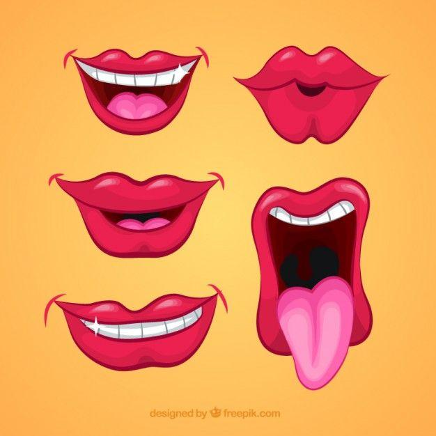 Resultado de imagen para bocas y bigotes para imprimir | Globomania ...