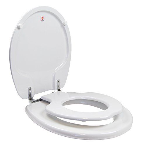 potty seat for elongated toilet. Mayfair 183SLOWA NextStep Adult Toilet Seat With Built In Child Potty  Training Elongated