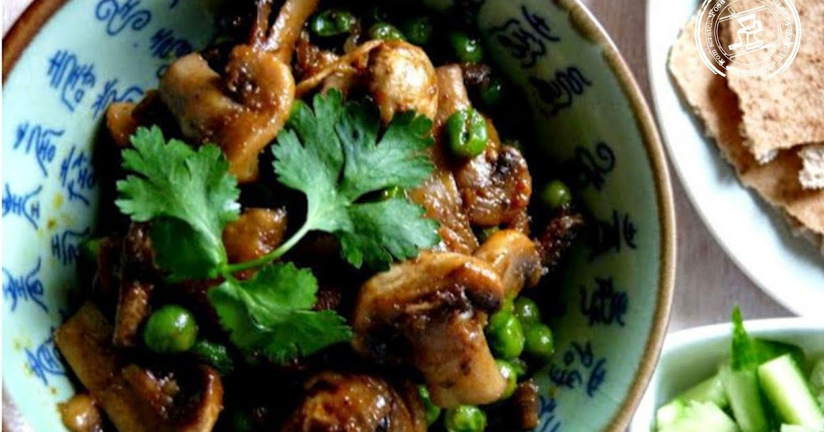 Mushroom Curry Recipe - Food like Amma used to make it