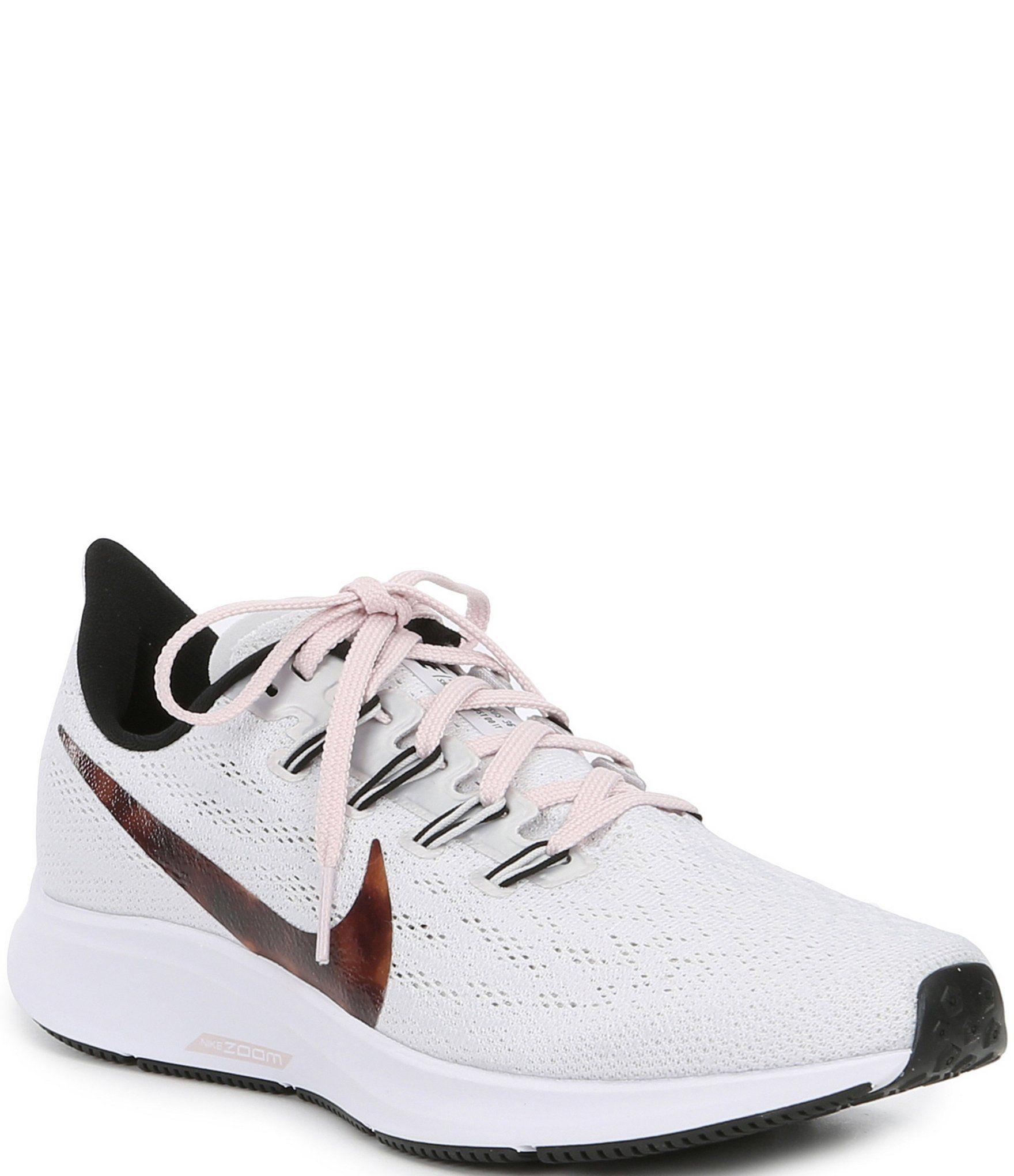 Nike Women's Air Zoom Pegasus 36 Running Shoes Vast Grey