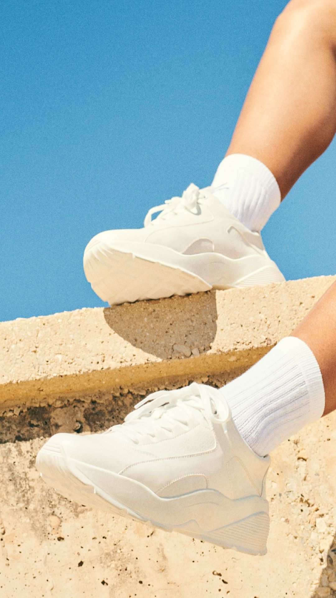 Chunky sneakers are this summer's go