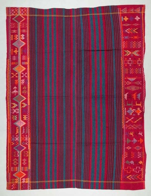 Africa | Wrapper ~ bida cloth ~ from the Nupe people of Nigeria...