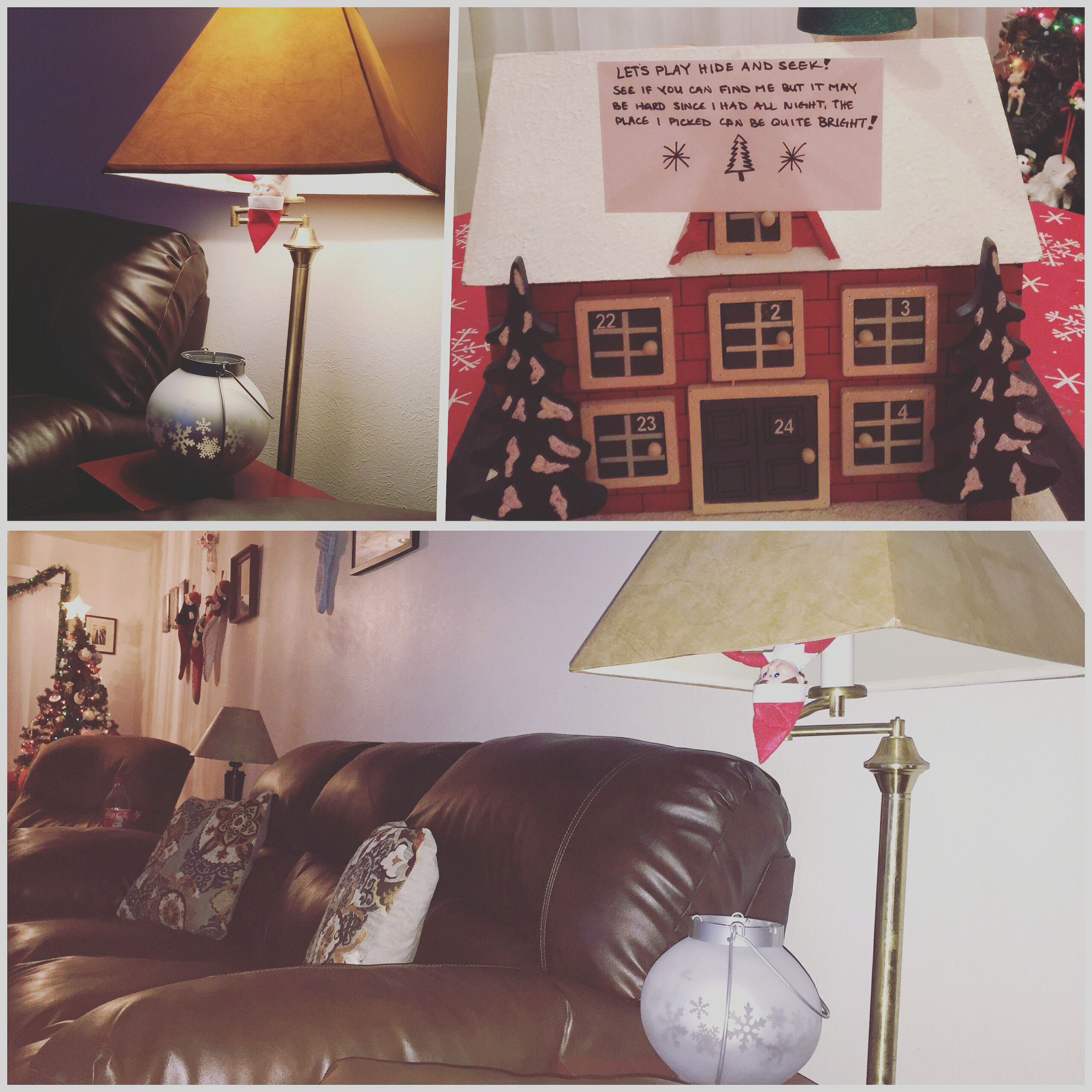 Elf on the shelf hide and seek Home decor, Shelves