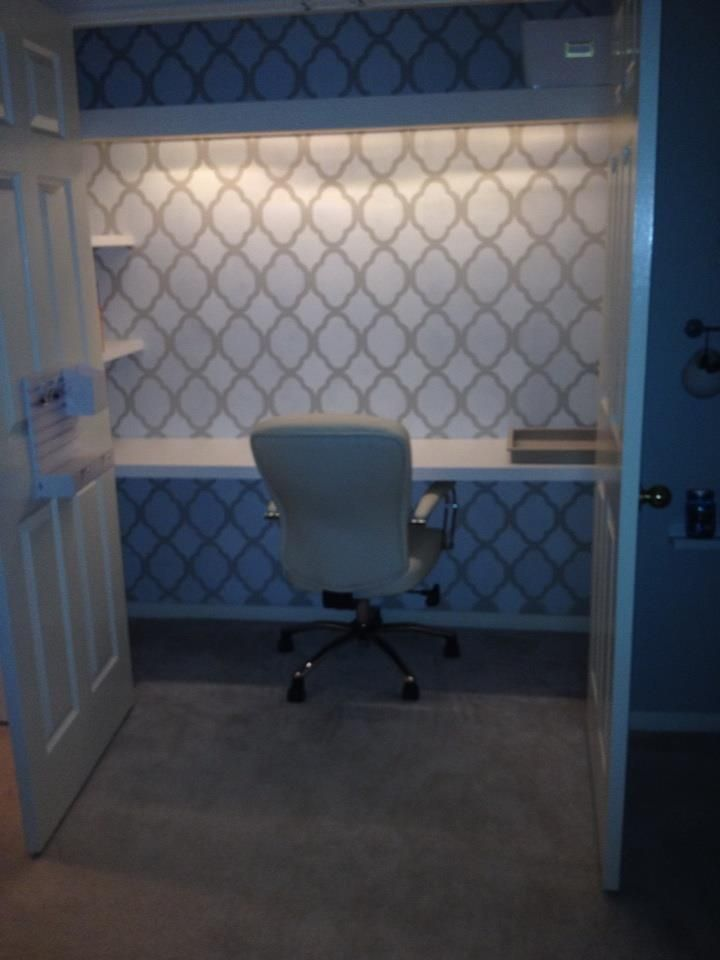 Desk In Closet