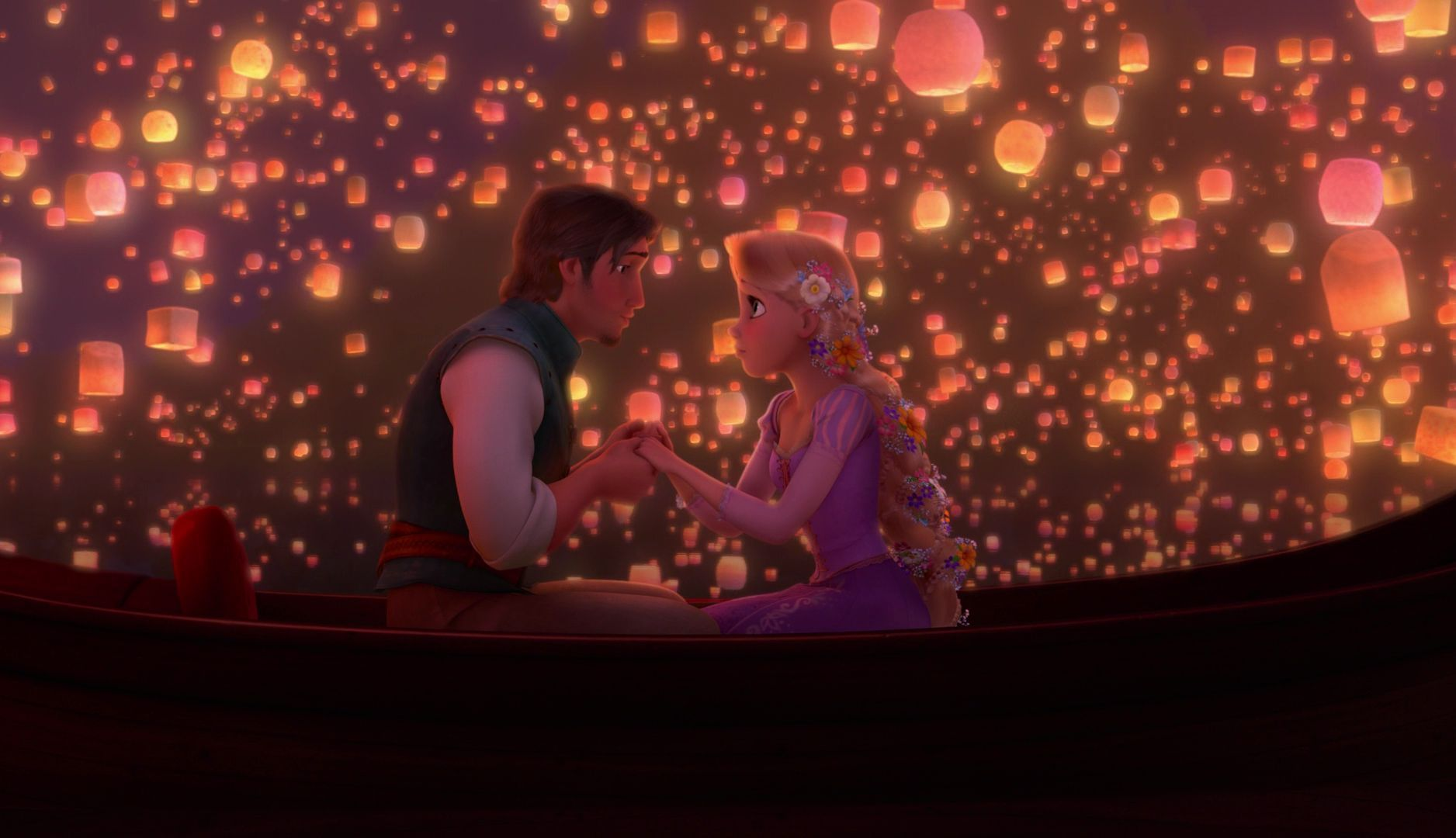 Fairy Tale Wedding * Tangled * Features: lanterns, flower hair ... for Sky Lanterns Wallpaper Tangled  181obs