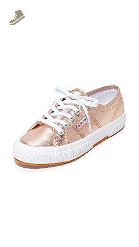 857b7cb845c73 Superga Women's 2750 Cotmetu Fashion Sneaker, Rose Gold, 37.5 EU/7 M ...