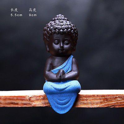 Small Buddha Statue Statuette Yoga Decor Ceramic Handicrafts Ornaments Home Cute Ebay Small Buddha Statue Baby Buddha Buddha