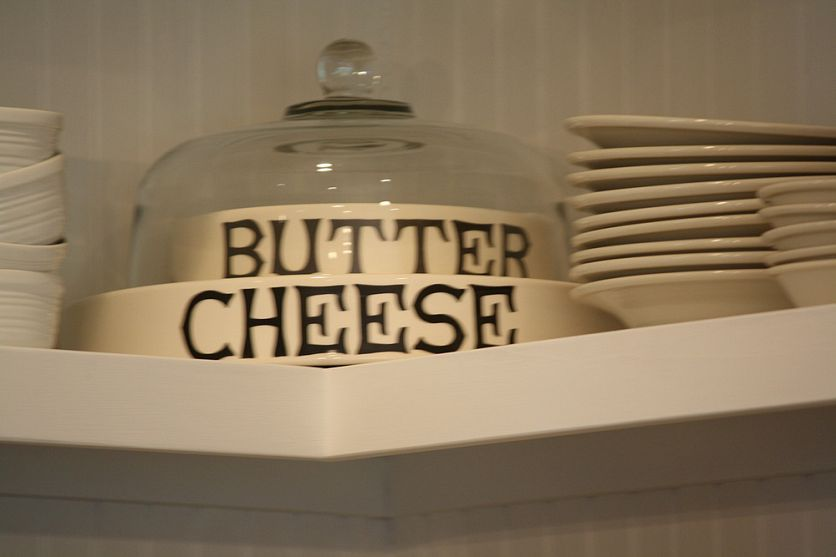 Butter/cheese trays