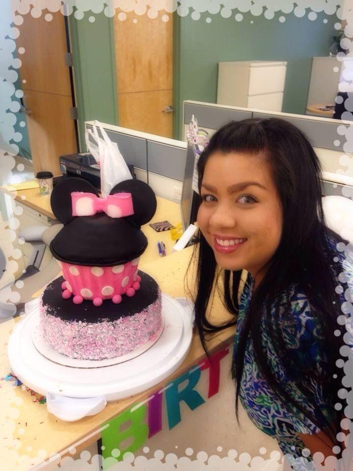 Happy Birthday!! She loved her Minnie Cake!